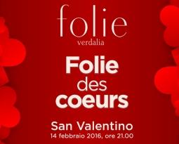 """A San Valentino, con """"Folie Des Coeurs"""" si celebra l'amore"""