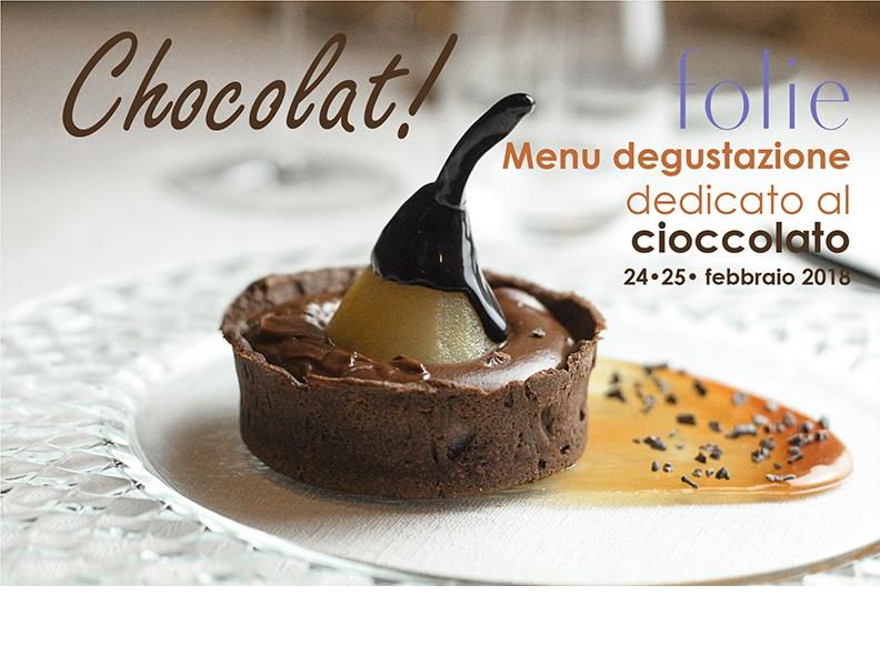 Menu degustazione dedicato al Cioccolato
